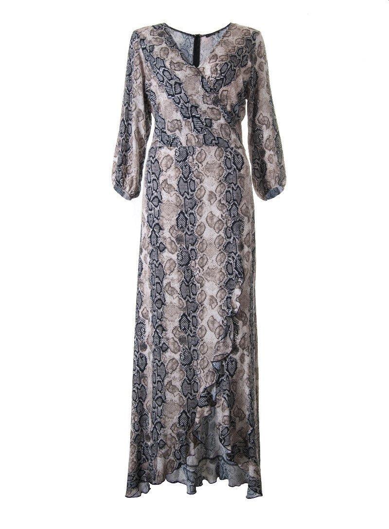 edd40c8bc0 sukienka zara wężowy wzór Kliknij
